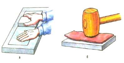 Выравнивание тонкого металла