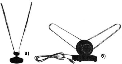 Телескопические комнатные антенны