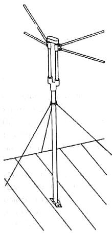 Общий вид антенны ТАИ-12 (ТАИ-12М)