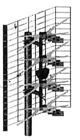 Общий вид антенны ASP-8A (СХ-8А)