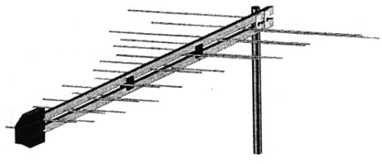 Общий вид антенны LOG ACTIV
