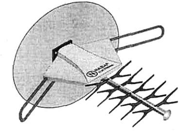 Внешний вид антенны TEVSAN 7750-A