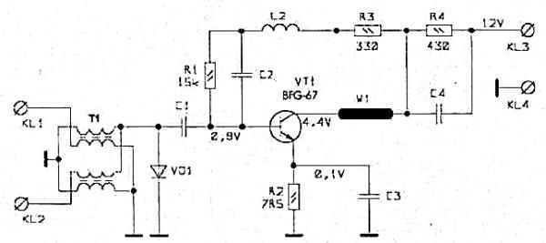 Принципиальная схема S&A-110