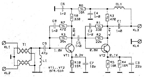 Принципиальная схема ANPREL WS-2