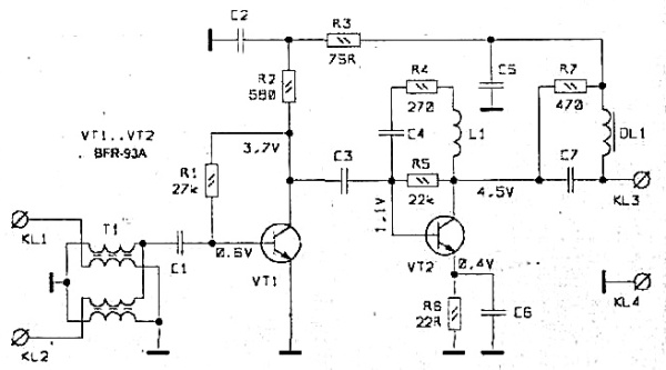 Принципиальная схема SWA-3