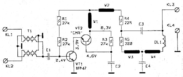 Принципиальная схема SWA-4 LUX