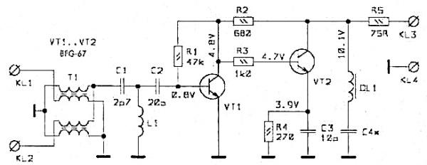 Принципиальная схема SWA-5 (SWA-6)