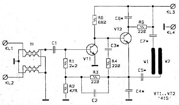 Принципиальная схема SWA-7