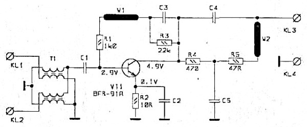 Принципиальная схема SWA-1