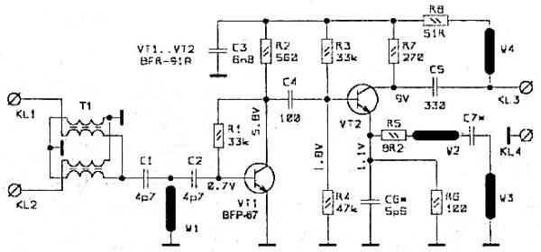 Принципиальная схема SWA-8