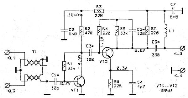 Принципиальная схема SWA-9
