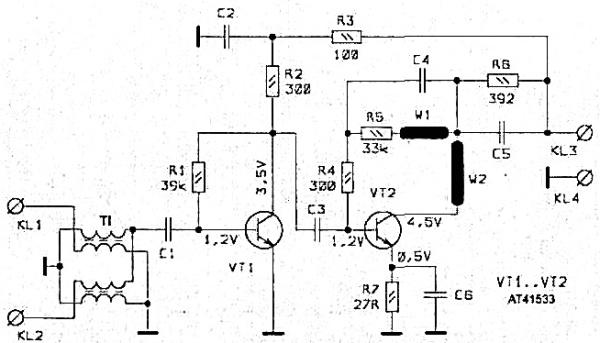 Принципиальная схема SWA-455 LUX