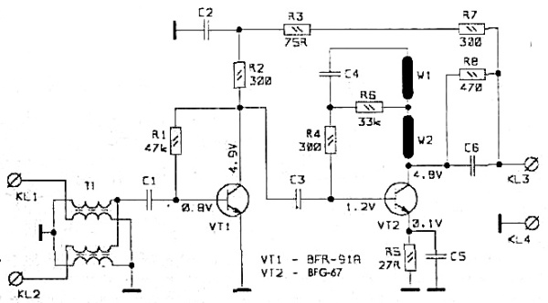 Принципиальная схема SWA-555 LUX