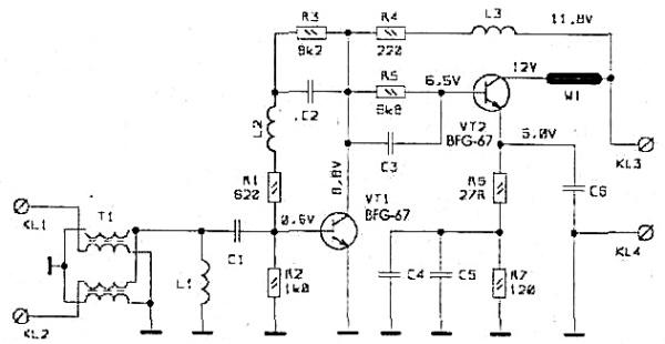 Принципиальная схема PA-5