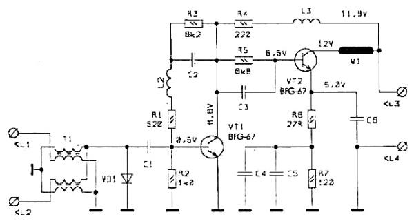 Принципиальная схема S&A-130