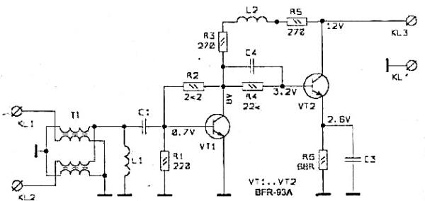 Принципиальная схема РА-10