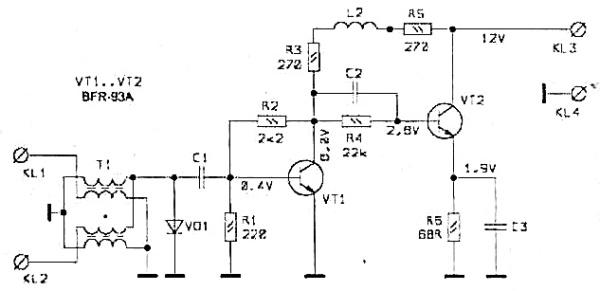 Принципиальная схема S&A-120
