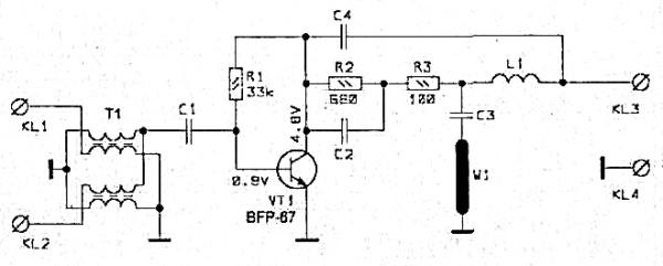 Принципиальная схема SWA-1 LUX