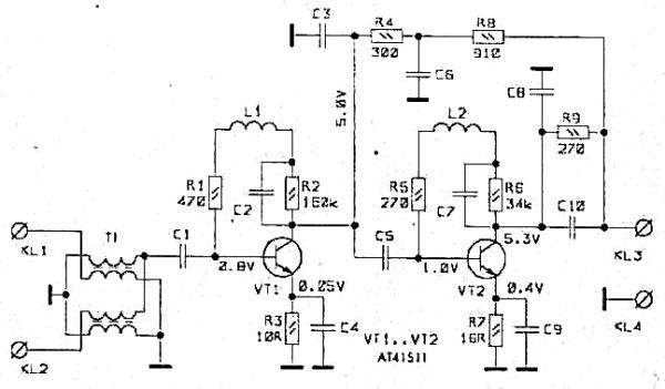 Принципиальная схема РАЕ-42