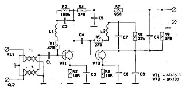 Принципиальная схема РАЕ-43