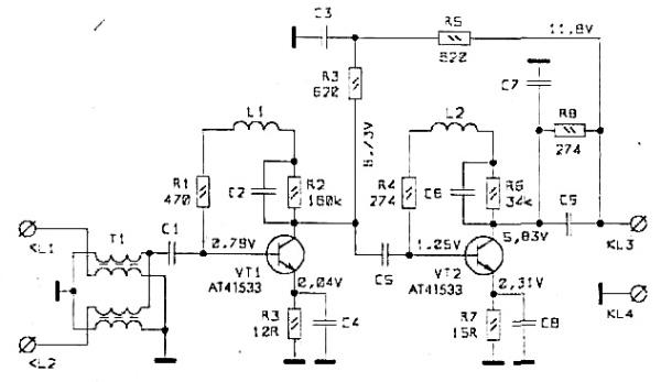 Принципиальная схема РАЕ-44
