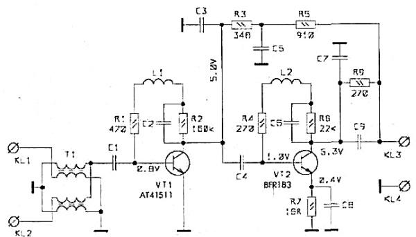 Принципиальная схема РАЕ-45