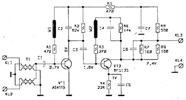Принципиальная схема РАЕ-65