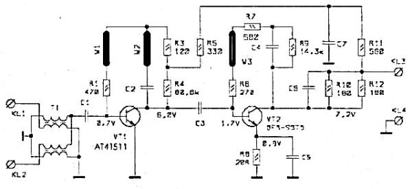 Принципиальная схема РАЕ-65 TS