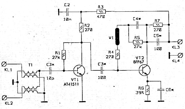 Принципиальная схема GPSWA-042