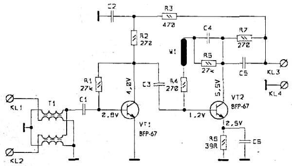антенных усилителей - SWA