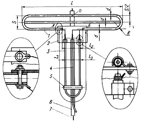 Двойной петлевой вибратор