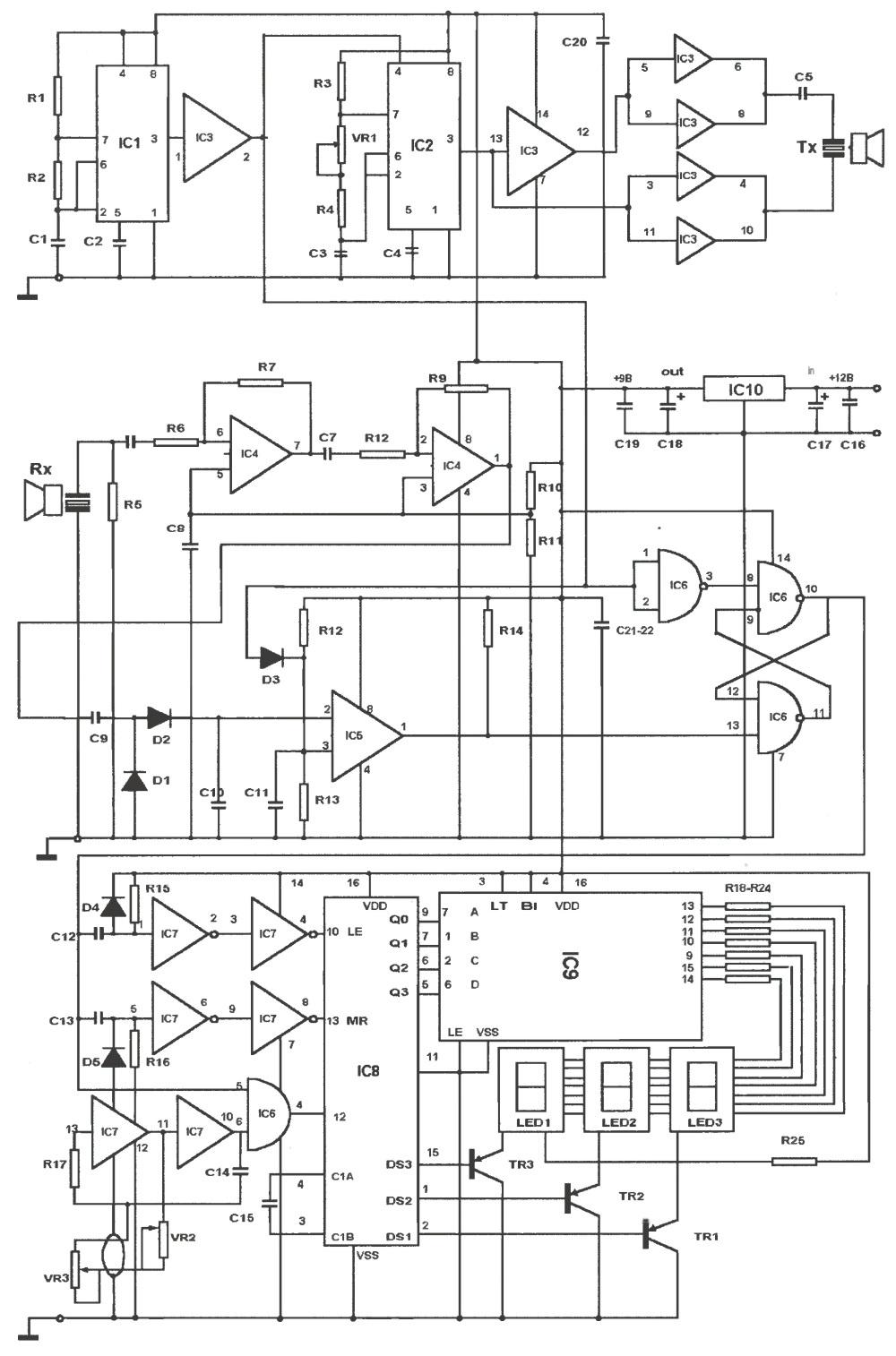 В его качестве можно использовать...  Рис. 2. Электрическая принципиальная схема.