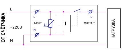 Схема подключения УЗМ