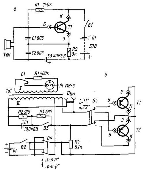 генераторы для испытания транзисторов