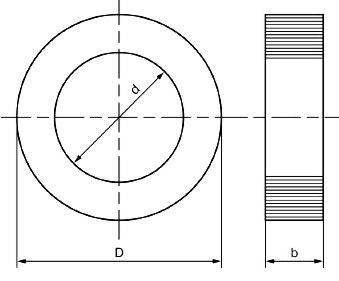Тороидальный ленточный магнитопровод трансформатора.