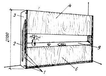 Общий вид мобильной, трансформирующейся двухъярусной детской кровати