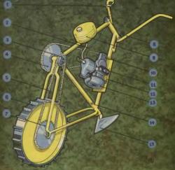 Самый маленький мотоплуг